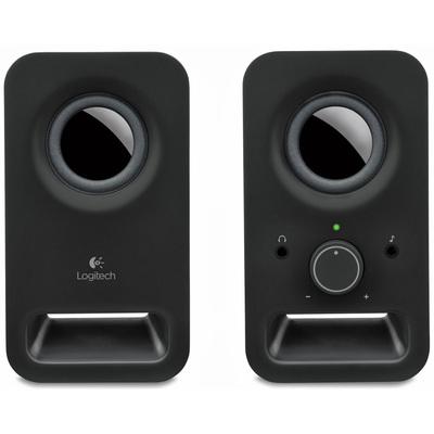 LOGITECH SPEAKER Z-150  BLACK 980-000814   stereo 2.0