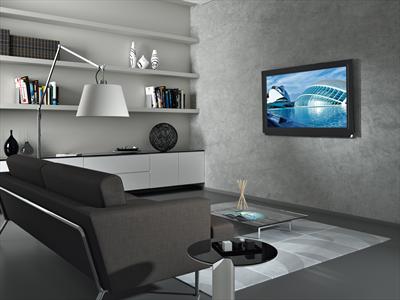 """MELICONI CME SUPPORTO ES100 NEW X LCD/LED 14-25\"""" fisso , Vesa 100 max 20kg marcato CME"""