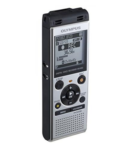 OLYMPUS MICROREG.DIG. WS-852 4GB USB MEMORIA 4GB,SLOT MICRO SD, 1.040ore, MICR.STEREO