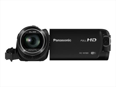 PANAS TELEC. HC-W580EG-K Full HD, Sensore BSI 1/5,8'', Twin Cam e Wireless Multi Cam