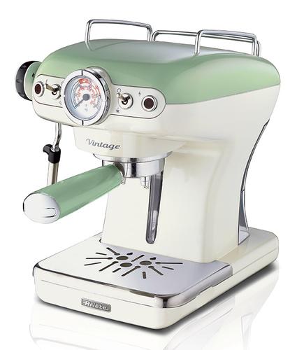 ARIETE M/CAFFE ESPRESSO 138914 POLVERE + CIALDE -  CAPPUCCINATORE - VERDE