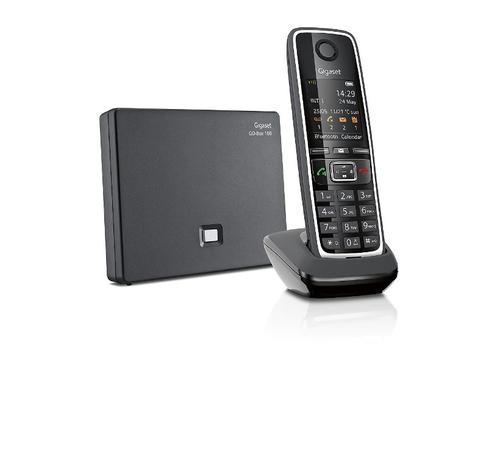 "GIGASET TELEF. CORDLESS C530 A GO BLACK Internet: fino a 6 numeri, 3 segreterie, 1.8\"" display"