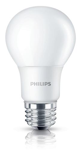 PHILIPS LAMPADA LED 8W GOCCIA E27 3000  8-60W 3000K Goccia attecco E27 luce calda