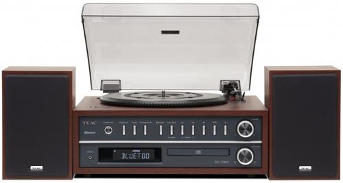 TEAC HI FI MCD800B BLACK radio, cd, usb, bluetooth, giradischi, diffusori 25w+25w