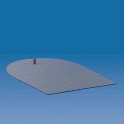 (2) BASE ACCIAIO VERNICIATA 200x160mm Base acciaio Verniciata 200*160mm