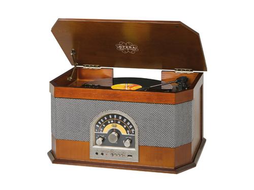 TREVI HIFI TT1040 BT GIRADIS,MP3,USB LEG RADIO, GIRADISCHI,MP3,USB, BLUETOOTH, LEGNO