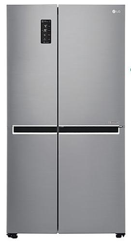 LG FRIGO GSB760PZXZ INOX(A++)626LT H-P-L179,3x73,8x91,2 TotalNoFrost.
