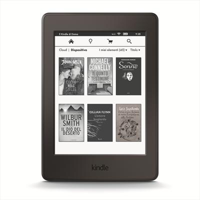 "KINDLE PAPERWHITE eBOOK READER 6\"" BLACK Paperwhite - Nero - 8 GB Flash - 15,2 cm (6\"") Display -Touch"