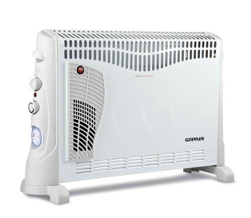 G3 FERRARI TERMOCONV. G60012 TIMER ventilato,program.24h,2000watt,termostato,3potenze