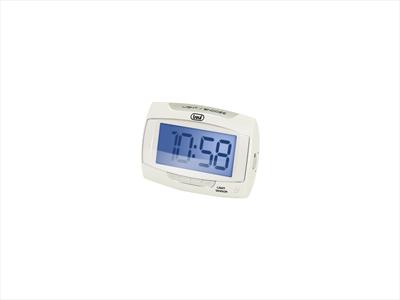 TREVI OROLOGIO DIGITALE SLD 3065 BIANCA Orologio Sveglia ampio display digitale