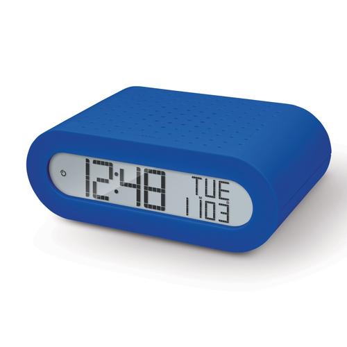 OREGON RADIOSVEGLIA RRM116 B  BLU radiocontr. radio FM, doppio allarme, calendario