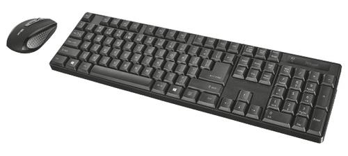 TRUST KEYBOARD & MOUSE XIMO WIRELESS 21134 - XIMO Wireless Keyboard & Mouse