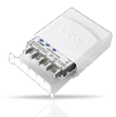 GBS AMPLIFICATORE NSR4/VU2-2OUT -LTE NSR 4 transistor - 3 ing. regol. - attacco F - filtro LTE