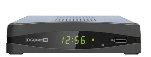 DIGIQUEST RICEV.DTT DGQ660HD  T2 HEVC  Digitale Terrestre Zapper T2 HEVC ,  USB Rec&Play