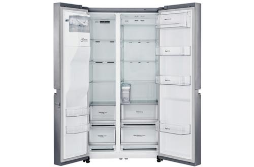 LG FRIGO GSL761PZUZ INOX (A++)668LT H-P-L 197x73,8x91,2.DRINK & ICE MAKER - Senza Allaccio Rete