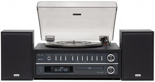 TEAC HI FI MCD800CH  CHERRY radio, cd, usb, bluetooth, giradischi, diffusori 25w+25w
