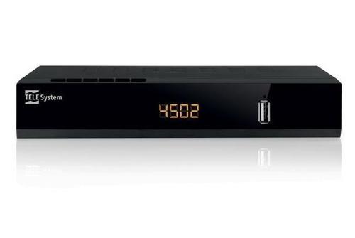 TELESYSTEM RIC.DIG.SAT TS4502 C.I.+ HD HD, 5000 ch. 1 slot CI+, 2 USB,  PvR, DiSEqC 1.0