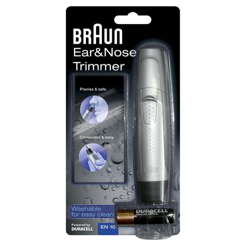 BRAUN RIFINITORE EAR &  NOSE EN10