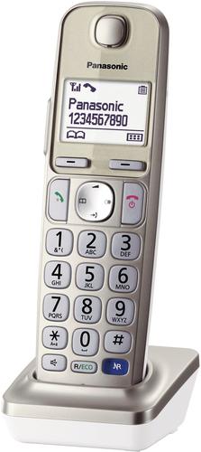 PANAS TEL.CORDLESS KX-TGEA20EXN AGGIUNTI portatile aggiuntivo+caricabatterie per TGE210JTN