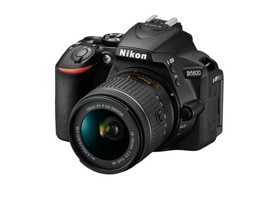 "NIKON FOTO.DIG.D5600+18-55VR 24,1Mp CMOS 24,2mp, LCD 3.2\"", scatto 5fps, Wi-FI, BT, NFC"
