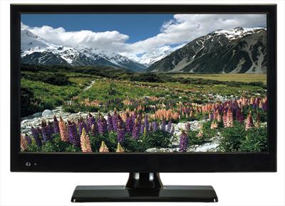 "NEW MAJESTIC LCD TVD-215 s2  15\""  LED 15.6\"",  DVB-T2/S2  HEVC,  HD, ingresso CAM, 12Vcc"