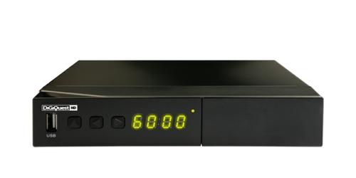 DIGIQUEST RICEV.SAT 8500CI  HD C. I. +Lettore Smart Card, USB PvR, compat. Cam Tivusat