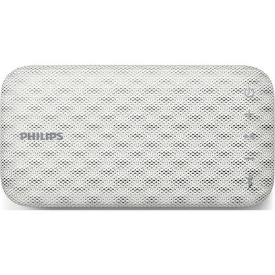 PHILIPS MINI SPEAKER BT-3900 W BLUETOOTH batter. litio, 4W .impermeabile . colore Bianco