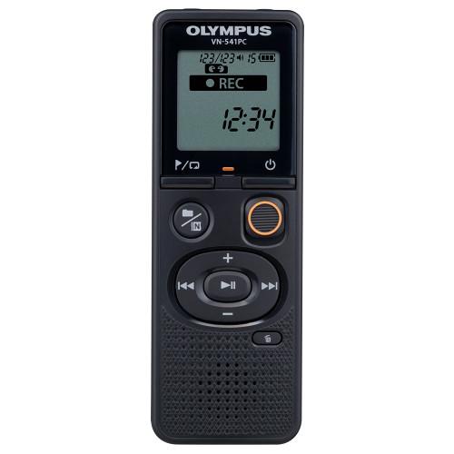 OLYMPUS MICROREG.DIG. VN-541PC 4GB USB MEMORIA 4GB, 1.040 ORE DI REG,MICR.ALTOP. collegabile al PC