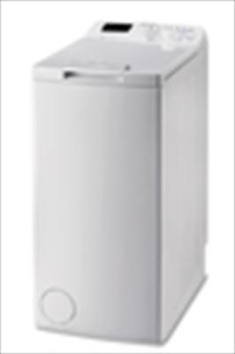 INDESIT LAVAT. BTW D61253P IT 6kg (A+++ Carico dall'alto,1200giri, Display small digit, Soft Opening