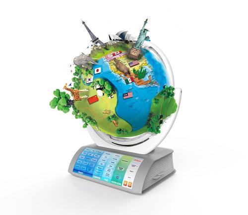 OREGON SMART GLOBE SG-338RX  INTERATTIVO mappamondo interattivo 3Dcon realtà aumentata, sistema solar