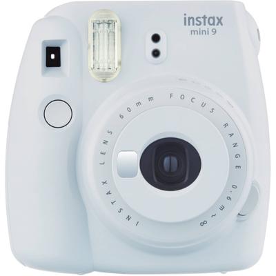 FUJI INSTAX MINI 9 SMO WHITE + 10 SHOTS FOTOCAMERA ISTANTANEA DIGITALE,