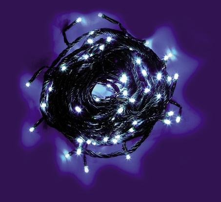 GBC CATENA 40 LED 3M B. FREDDO LAMPEGGI DA ESTERNO 40 LED LAMPEGGIANTI 3M B.FREDDO/C
