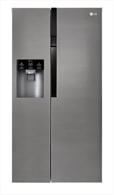 LG FRIGO GSL361ICEZ INOX (A++)668LT H-P-L 197x73,8x91,2.DRINK & ICE MAKER - Senza Allaccio Rete