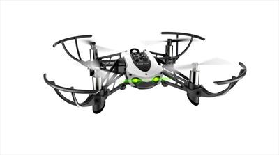 Parrot Mambo drone fotocamera Nero, Bianco 4 rotori 0,3 MP 550 mAh
