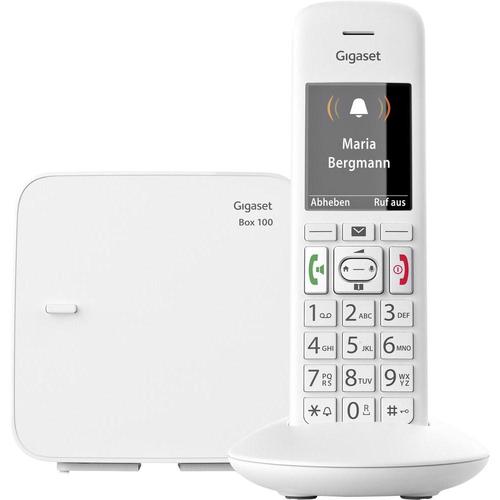GIGASET TELEF. CORDLESS E370 VIVAVOCE tasti e numeri grandi, display alfanumerico, suon. polifonic