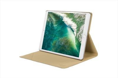 "TUCANO CUSTODIA APPLE IPD8AN-GL Custodia New iPad 10.5\"" con scocca poster rigida, Gold"
