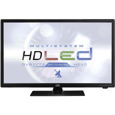 """TREVI LCD LTV 2401 HD 24\"""" LED NERO DVB-T2/S2 HEVC, Slot C.I. USB, doppia alimentazione"""