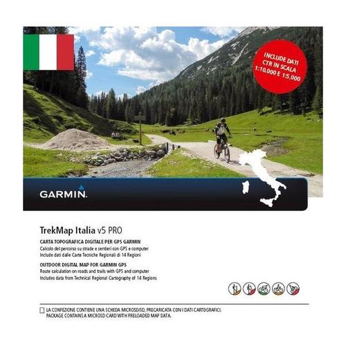 GARMIN TREK MAP ITALIA V5 PRO