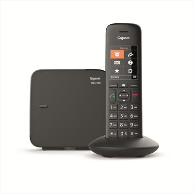 "GIGASET TELEF. CORDLESS C570 BLACK VIVAV display TFT a colori 2,2\"",vivavoce, 200 numeri mem."