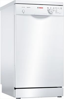 BOSCH LAVAST.SPS25CW00E BIANCA 45cm(A+ ActiveWater, 9 coperti, A+, 9,5 l**, 48 dB, 5 Programmi