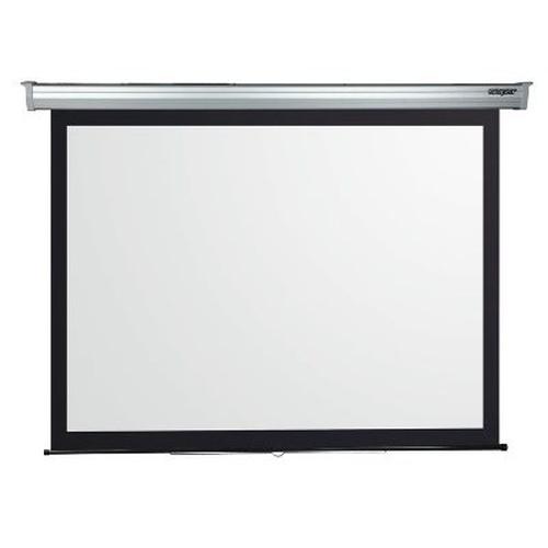 """SOPAR SCHERMO 4200  200x200cm ELETTRICO serie \""""New Gold\"""" tela bianca tradizionale, cassonetto bianco"""