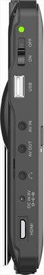 "NEW MAJESTIC LCD TVD-935  9\""  T2 9\""  DVB-T2 HEVC, USB rec, 12vcc, Telecomando"