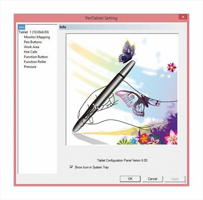 "TRUST TAVOLETTA GRAFICA PANORA 21794 - Panora Widescreen 10\"" Graphic Tablet"