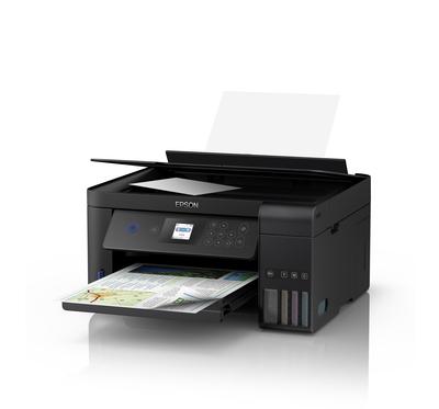 """EPSON MULTIFUNZIONE ECOTANK ET-2750 3 IN 1 Printer, LCD 5.6\"""", Fronte.-Retro, Wi-fi, Ehernet"""