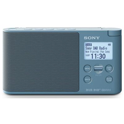 SONY RADIO DAB XDRS41DL BLU Radio DAB / DAB+ / FM, Full Display, doppia alimentazione
