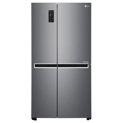 LG FRIGO GSB470BASZ DARK INOX(A++)680LT$ H-P-L179x71,7x91,2TotalNoFrost,display,inverter,SmartDiagnos