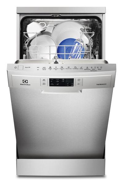 ELECTROLUX LAVAST. ESF4513 LOX INOX 45cm A+AA- 47dBA - 9 cop - Grande display - Delay1-24h -6 progr (