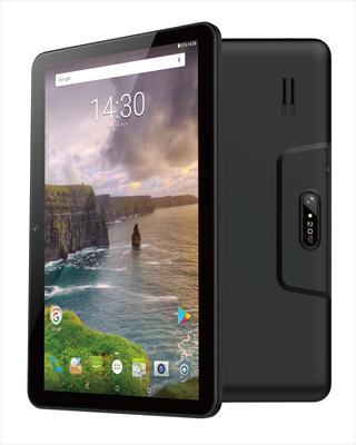 "NEW MAJESTIC TABLET 10\"" TAB-611 BLACK Quadcore A7, Display 10.1\"" HD, Ram 1GB, 8GB, Android 7.0"