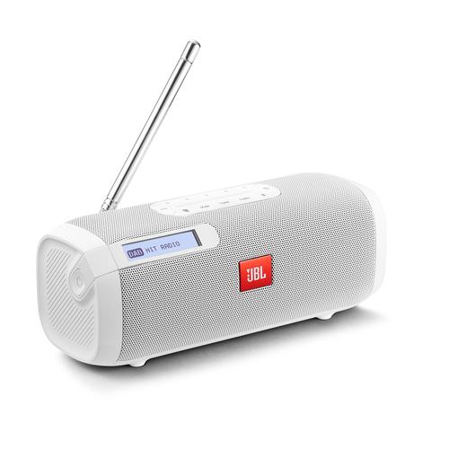 JBL DIFFUSORE TUNER DAB WHITE Bluetooth, Radio DAB/DAB+, RDS , display