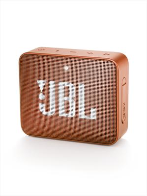 JBL DIFFUSORE GO 2 WIRELESS ORANGE Sistema audio portatile con connettività wireless Bluetooth